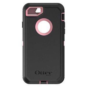 iPhone 7/8+ OtterBox black/ pink