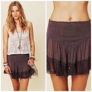 Free People One Balleto Mini Skirt, M, EUC