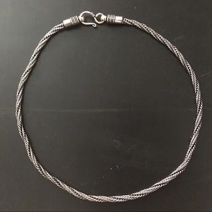 """Jewelry - NEW Bali thick rope chain necklace 20"""""""