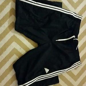 XXL Adidas Track pants black and white