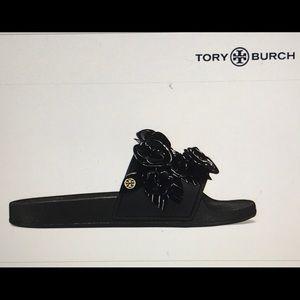 Tory Burch Blossom Slide Size 8