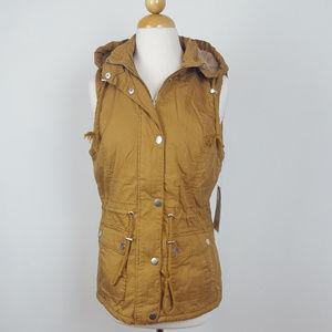 New Winter Vest with Detachable Hoodie