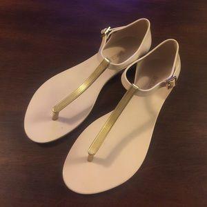 Melissa Honeycharm t strap sandals