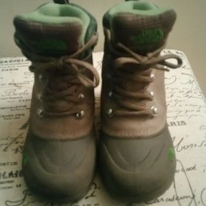 The North Face Chilkats Lace Boots size 12 toddler