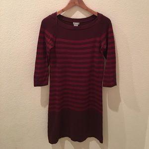 {Joe Fresh} Striped Sweater Dress