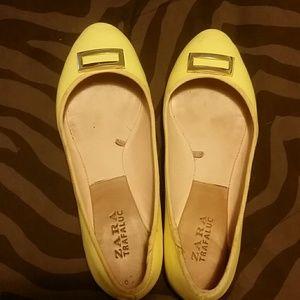 Zara flats size 37 usa 7