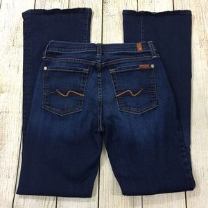 "7 FOR ALL MANKIND Bootcut Jeans (inseam 31"")"