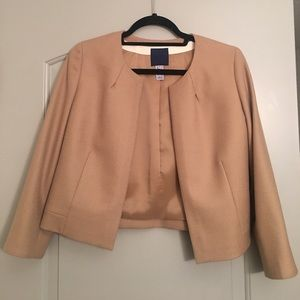 Jcrew cropped blazer