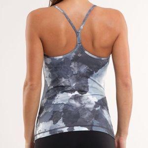 NWOT Lululemon RARE print power Y yoga bra tank