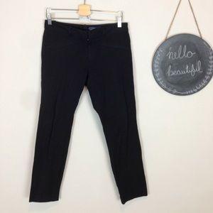 Gap black skinny ankle pants size 8 work pants