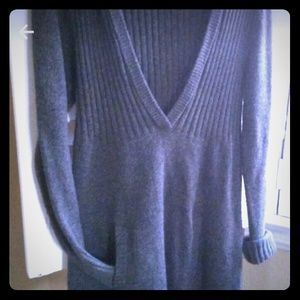 Old Navy Hooded Sweater Dress