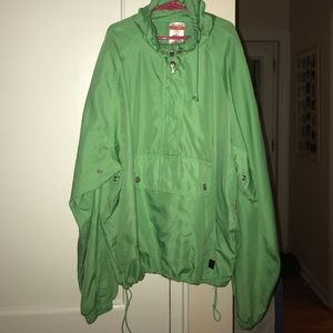 Spearmint Green Wind breaker