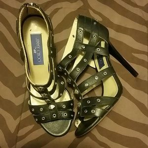 Jimmy choo gladiator  sandals heels size 37