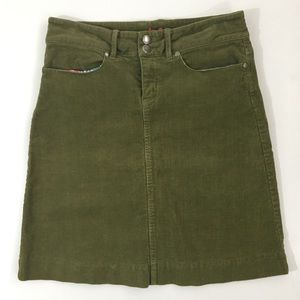 Downeast Outfitters Corduroy Skirt