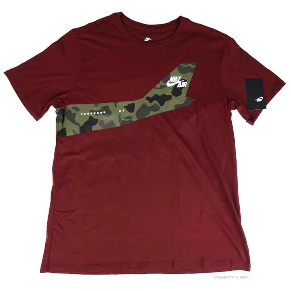 33a4b052 Nike Shirts | Mens Tee Af1 Bomber Camo Tshirt Size M | Poshmark
