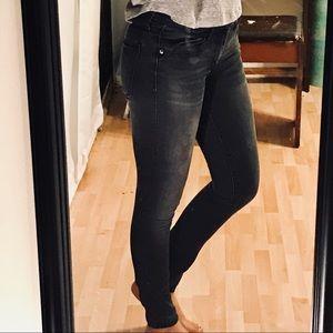 GAP black/grey Skinny Jeans