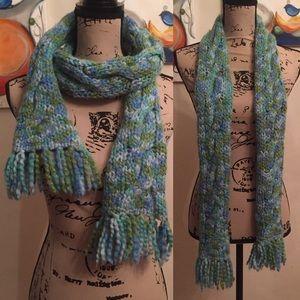 Patagonia knit scarf