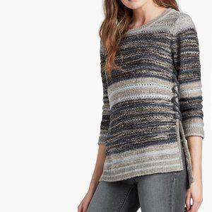 Lucky Brand Crochet Sweater SX