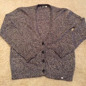 Ladies ROXY Sweater S P CH Button Front