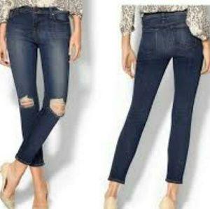 J Brand Misfit Skinny Ankle Jeans