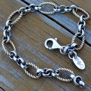 Philip Gavriel 18K Sterling Silver Italy Bracelet