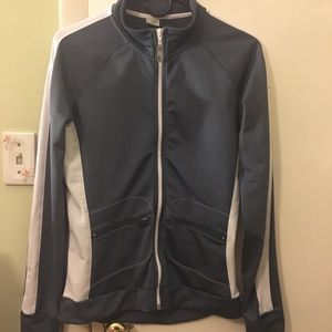 Alo Yoga Full Zip Stretch Active Jacket