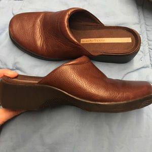 Easy spirt leather slip on style wmns sz 9 Lk nw