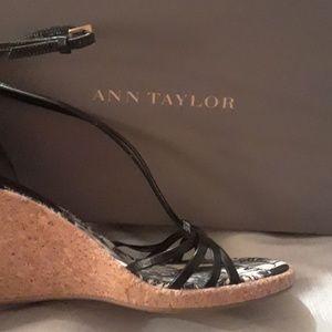 ANN TAYLOR WEDGES