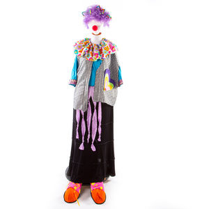 ADULT COMPLETE PLUS SIZE CLOWN COSTUME HALLOWEEN