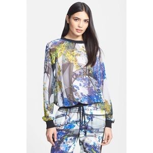 Clover Canyon Space Garden Sheer Sweatshirt