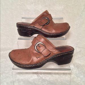 Born Concept Brown Slip on Medium Heel