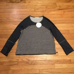NWT See by Chloe l/s striped shirt - sz 38/ Med