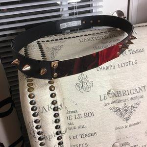 ASOS Curve Spiked Belt