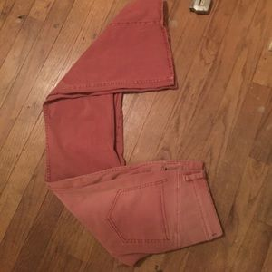 Free People distressed rugged jeans SZ 27