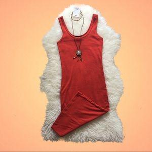 Forever 21 Orange Dress XS