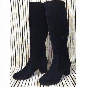 87316e58e02 Steve Madden Haydun Suede Knee High Tall Boots 7.5