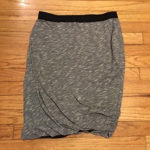 Anthropologie Deletta black/white skirt - Small