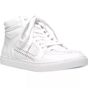 NWB Fergalicious Hardy white walking sneakers 8 M
