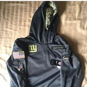 the latest d0673 aa698 Nike NY Giants 2016 Salute to Service Hoodie NWT NWT
