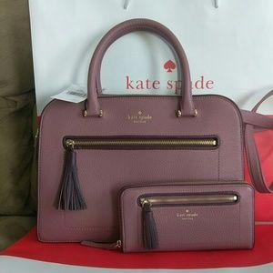 NWT Kate Spade tote purse w/ wallet