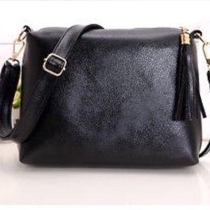 Brand New! Black bag with Tassles