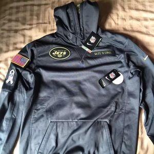 brand new 06200 d603e NWT Nike NY Jets Salute To Service Hoodie 2016 NWT