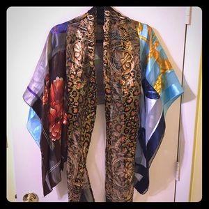 Sachi New York Silk Shawl