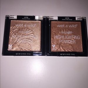Wet n wild megaglo highlighters