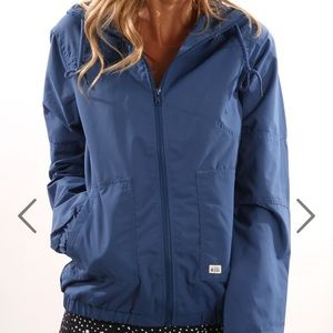 Volcom Blue Enemy Stone Women's Jacket