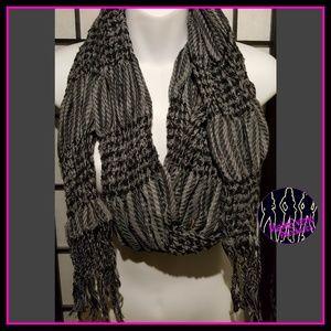 Grey unisex Scarf/ Shawl / Wrap