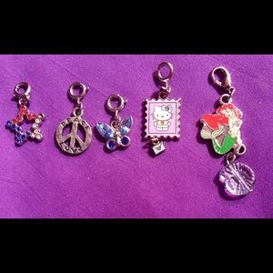 Lots of Bracelet Charms