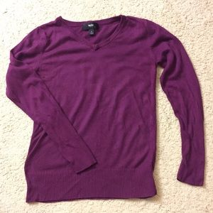 Mossimo sweater - purple