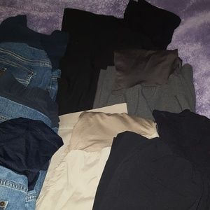 🎃 Reserved 🎃 Maternity Pants Lot