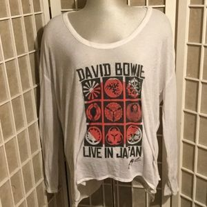 Rare Chaser David Bowie in Japan Long Sleeve Tee